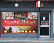 sydenham massage