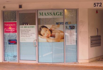 relaxation massage centre